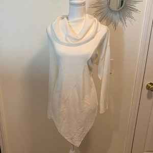 Asymmetrical Ivory Sweater